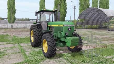 John Deere 4555 v4.0 für Farming Simulator 2017