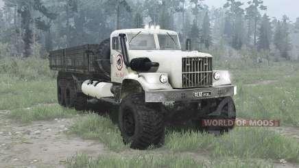 Le 6x6 KrAZ 257 pour MudRunner
