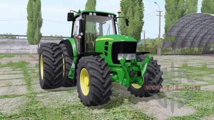 John Deere 7430 Premium dual rear für Farming Simulator 2017