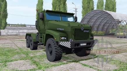 Oural Typhon-U (63095) 2014 truck v1.1 pour Farming Simulator 2017
