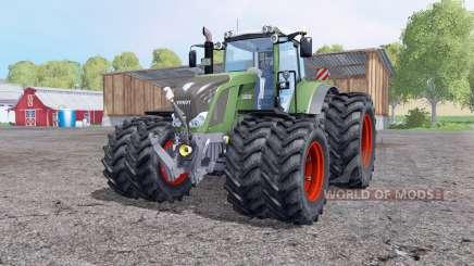 Fendt 828 Vario roues jumelées pour Farming Simulator 2015