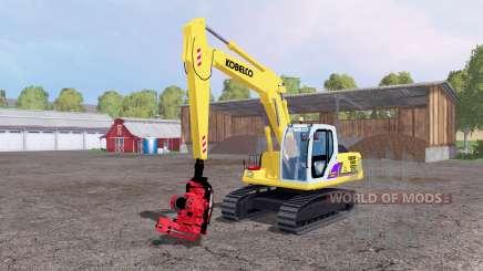 Kobelco SK160 LC für Farming Simulator 2015