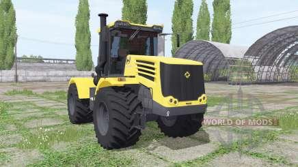 Kirovets K 744Р4 gelb v1.1 für Farming Simulator 2017