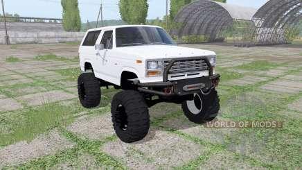 Ford Bronco XLT (U150) 1981 v1.1 pour Farming Simulator 2017