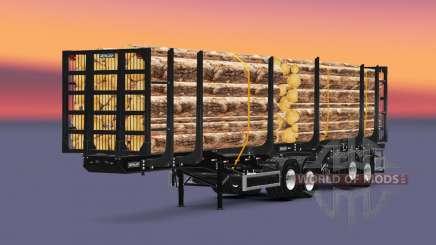Metalesp Bitrem Florestal pour Euro Truck Simulator 2