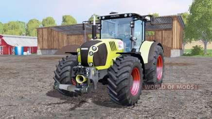 CLAAS Arion 650 ploughing spec für Farming Simulator 2015