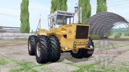 RABA-Steiger 250 twin wheels für Farming Simulator 2017