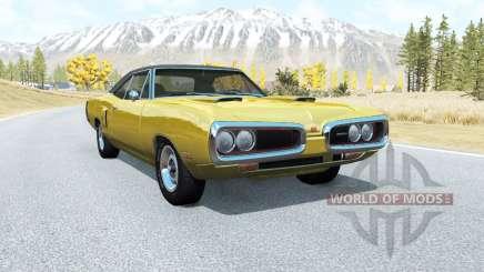 Dodge Coronet RT (WS23) 1970 v2.1 pour BeamNG Drive