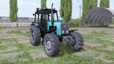 MTZ-1221 Biélorussie bleu pour Farming Simulator 2017