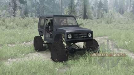 Suzuki Samurai crawler für MudRunner