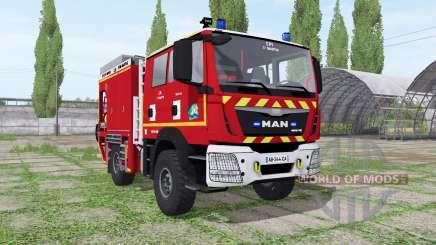 MAN TGM Sapeurs-Pompiers pour Farming Simulator 2017