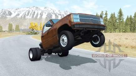 Gavril D-Series wheelie v1.1 pour BeamNG Drive
