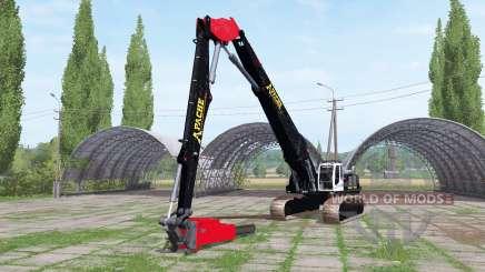 Liebherr R 954 C Litronic chainsaw pour Farming Simulator 2017