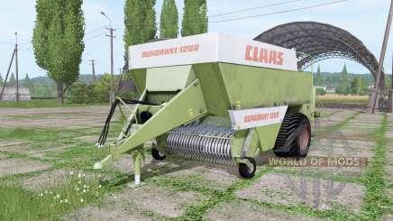 CLAAS Quadrant 1200 old für Farming Simulator 2017