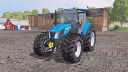 New Holland T5.115 loader mounting für Farming Simulator 2015