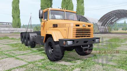 KrAZ 7140Н6 Multilift v1.1 für Farming Simulator 2017