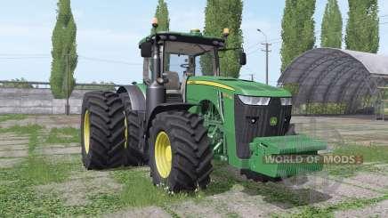 John Deere 8320R dual rear für Farming Simulator 2017