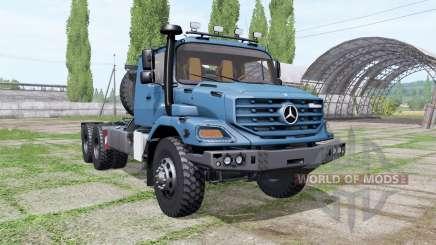 Mercedes-Benz Zetros 3643 AS 6x6 für Farming Simulator 2017