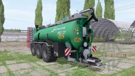 Samson PG II, 27 Göma pour Farming Simulator 2017
