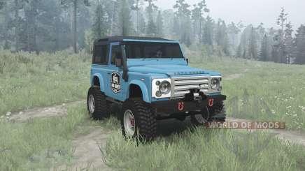 Land Rover Defender 90 Station Wagon pour MudRunner