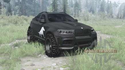BMW X6 M (E71) BORZ für MudRunner