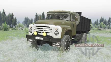 ZIL 130 4x4 vert pour Spin Tires