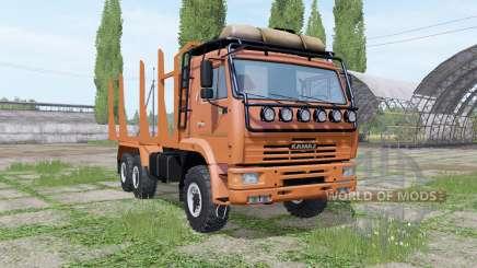 KAMAZ 43118 Holz für Farming Simulator 2017