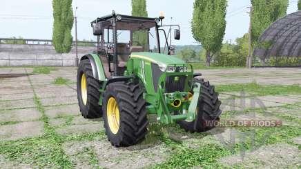 John Deere 5085M loader mounting pour Farming Simulator 2017