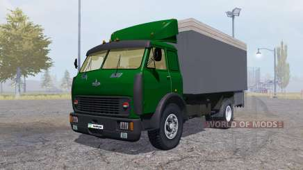 MAZ 500 conteneur vert pour Farming Simulator 2013