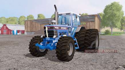 Ford 8630 dual rear pour Farming Simulator 2015