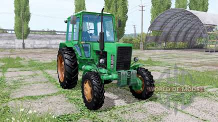 MTZ 82 Biélorussie vert pour Farming Simulator 2017