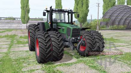 Fendt Favorit 816 Turboshift double wheels für Farming Simulator 2017