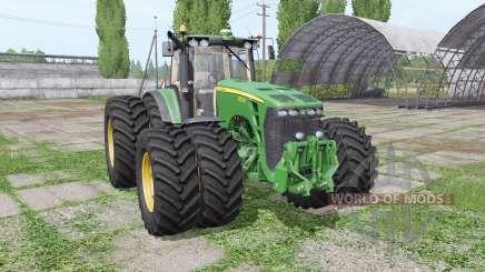 John Deere 8530 twin wheels für Farming Simulator 2017