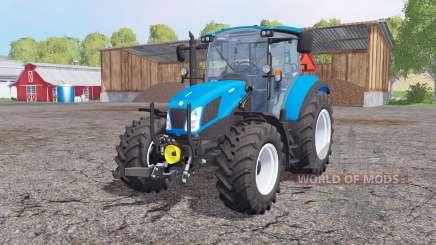 New Holland T5.115 front loader für Farming Simulator 2015