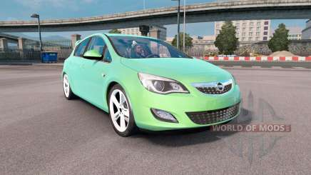 Opel Astra (J) 2010 pour Euro Truck Simulator 2