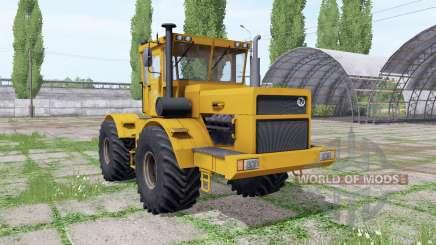 Kirovets K 700a variateur électronique v1.3.8 pour Farming Simulator 2017