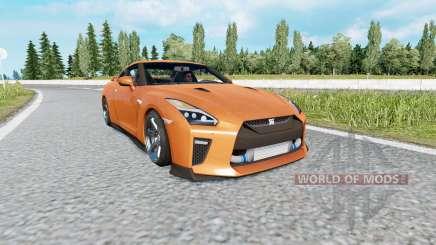 Nissan GT-R (R35) 2017 v2.0 für Euro Truck Simulator 2
