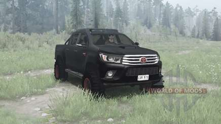Toyota Hilux 4x4 Double Cab 2016 pour MudRunner