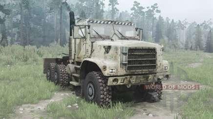 Oshkosh MTVR 6x6 tractor (MK31) pour MudRunner