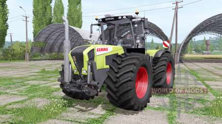 CLAAS Xerion 3800 Trac VC wide tyre pour Farming Simulator 2017