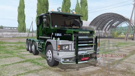 Scania T112HW 8x8 360 forest pour Farming Simulator 2017
