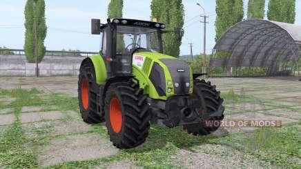 CLAAS Axion 820 Michelin für Farming Simulator 2017