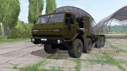 KrAZ 7Э6316 Sibirien v1.1 für Farming Simulator 2017