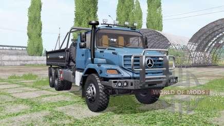 Mercedes-Benz Zetros 3643 A Farmtech v3.0 für Farming Simulator 2017