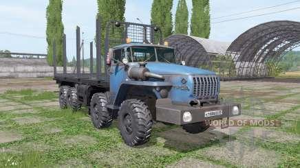 Oural 6614 v1.1 pour Farming Simulator 2017