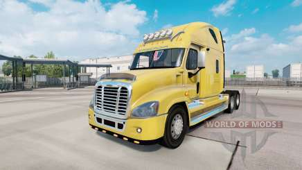 Freightliner Cascadia Raised Roof 2007 pour Euro Truck Simulator 2