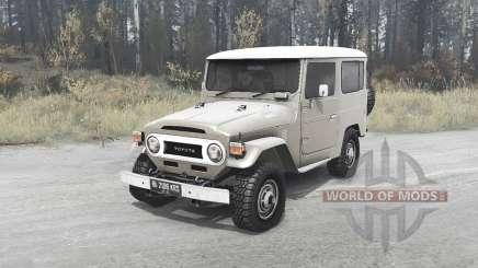 Toyota Land Cruiser 40 Hard Top (FJ40V) pour MudRunner