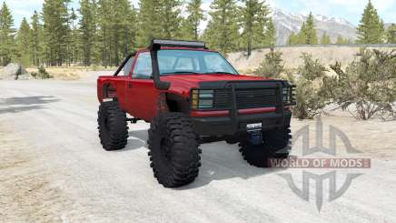 Gavril D-Series off-road v1.5 pour BeamNG Drive