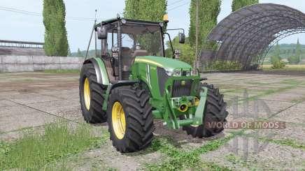 John Deere 5075M loader mounting für Farming Simulator 2017