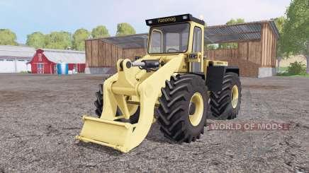 Hanomag 55D pour Farming Simulator 2015